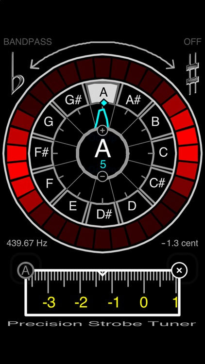 Precision Strobe Tuner screenshot-1