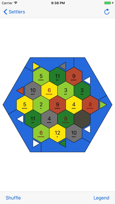 Hex Isle Map Map Generator For Catan By Nikolay Abalov Tools