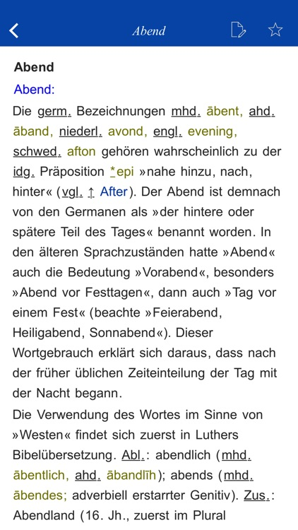 German Origin Dictionary