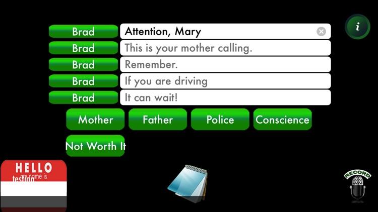 AntiRingtone: Safe Ringtones because It Can Wait screenshot-3