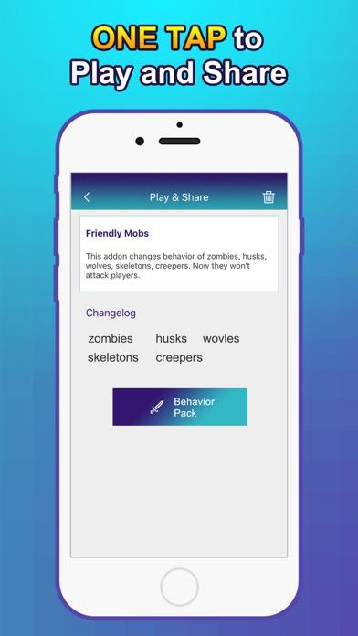 Addon Creator for Minecraft PE (MCPE) iOS Application