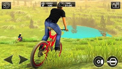 越野车BMX uphill:山地自行车车手2017 App 截图