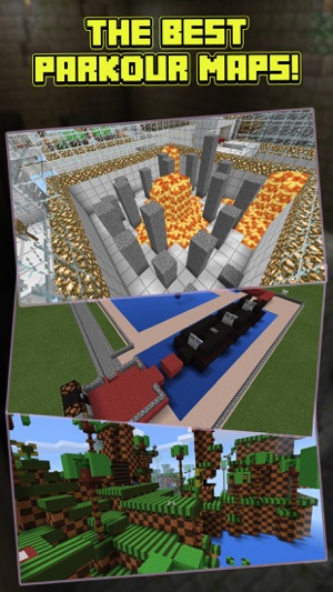 Parkour maps for minecraft pe minecraft parkour en app store capturas de pantalla gumiabroncs Choice Image