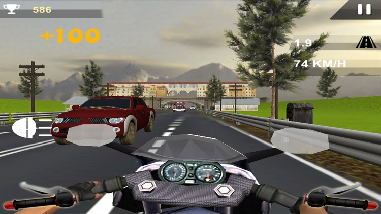 Stunt Moto Traffic Rider 2017 screenshot-2