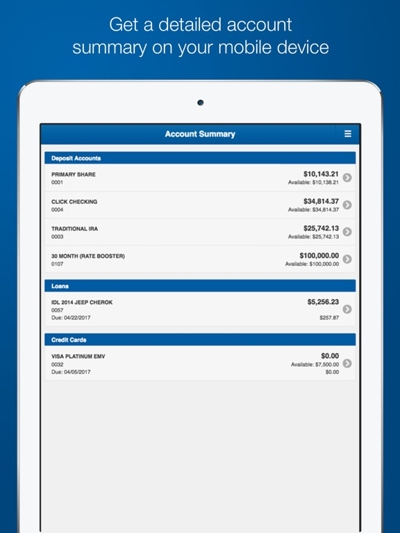 Home Branch Mobile By Tinker Federal Credit Union Ios