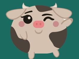 Farm Animal Emoji Stickers