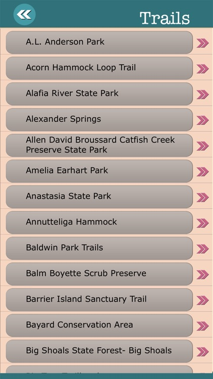 Florida State Campgrounds & Hiking Trails screenshot-3