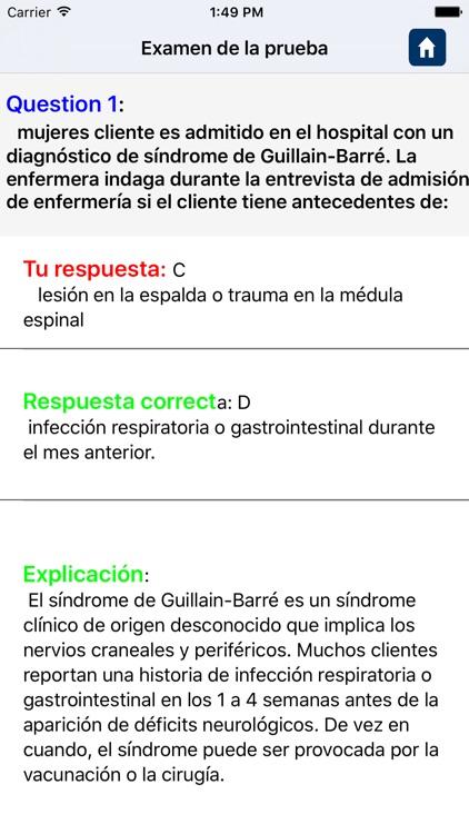 Examen de Neurología screenshot-4