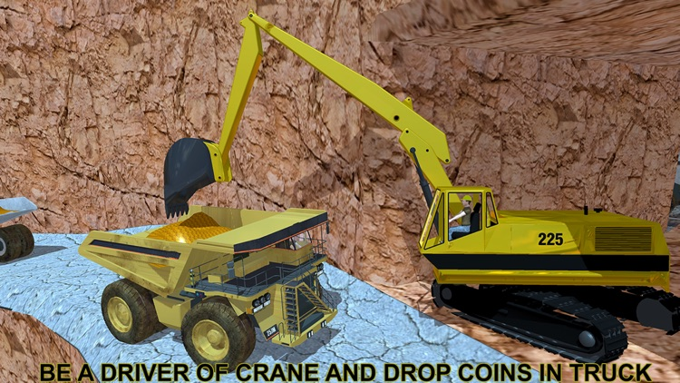 Gold Miner Real Rush Digger: Truck Drive 3D screenshot-1
