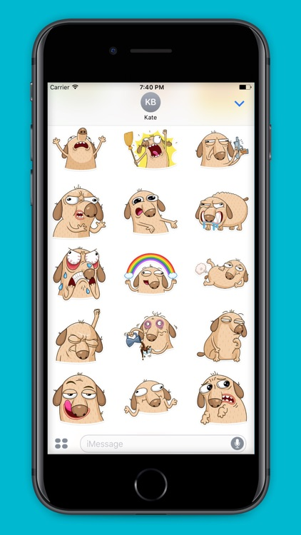 Diggi - Stickers for iMessage