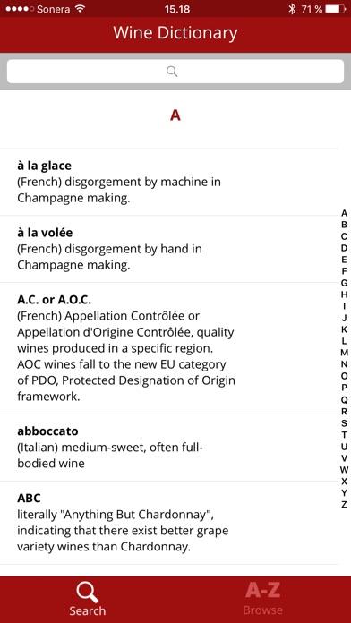 Wine Dictionary Скриншоты3