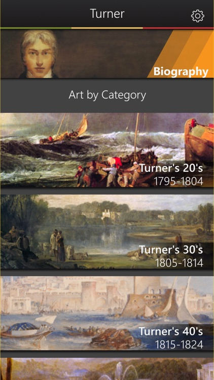 JMW Turner Artwork: Virtual Art Gallery