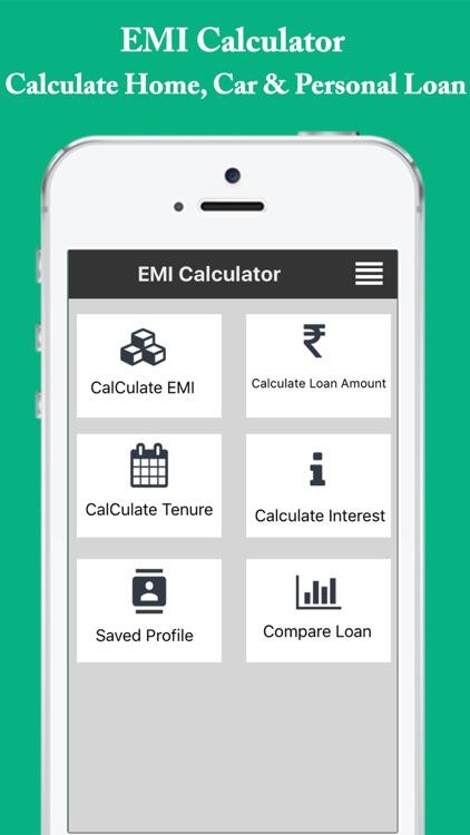EMI Calculator - Easy EMI,Loan,Interest Calculator