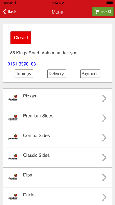 Pizza Time Ashton Under lyne screenshot two