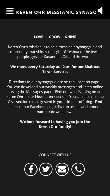 Keren Ohr Messianic Synagogue screenshot-3