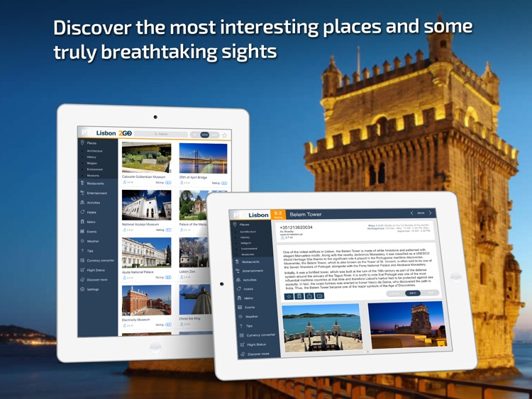 Lisbon Travel Guide and offline map