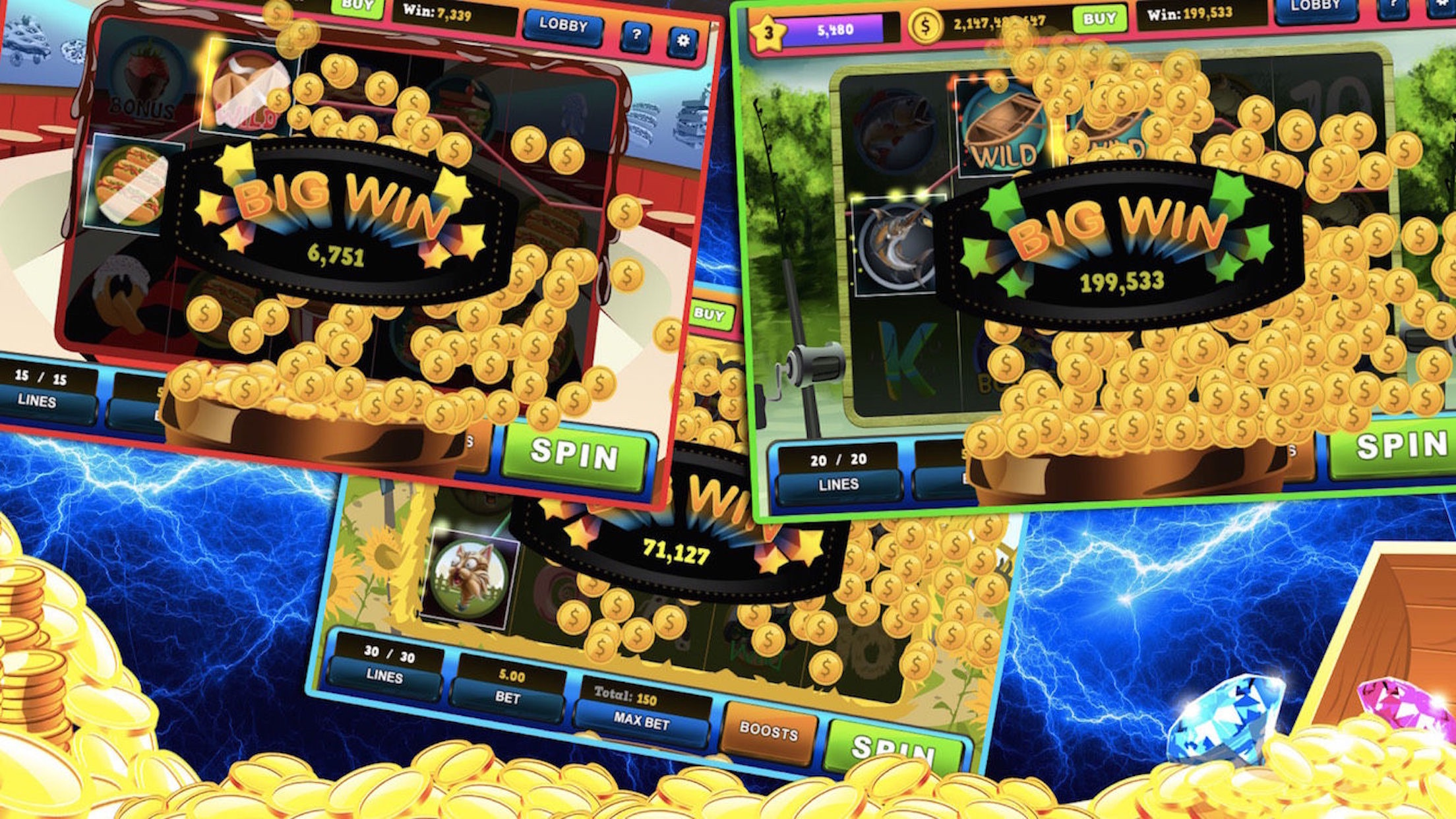 Mega Jackpot Slots - Classy Vegas Style Casino Screenshot