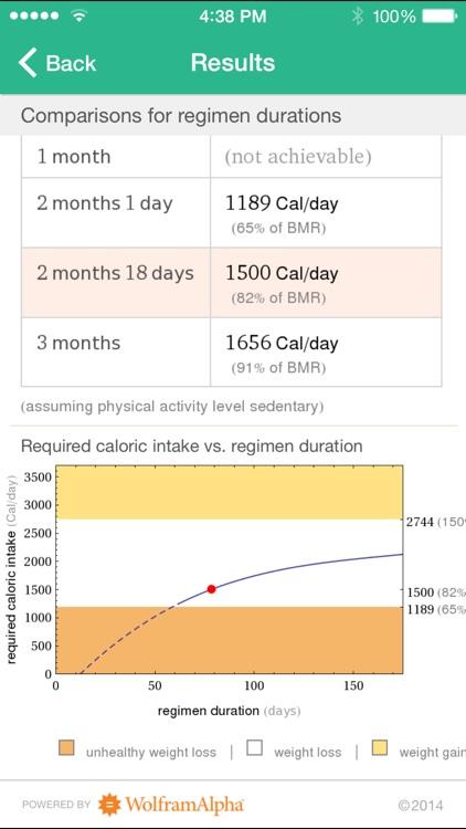 Wolfram Personal Fitness Assistant App screenshot-4