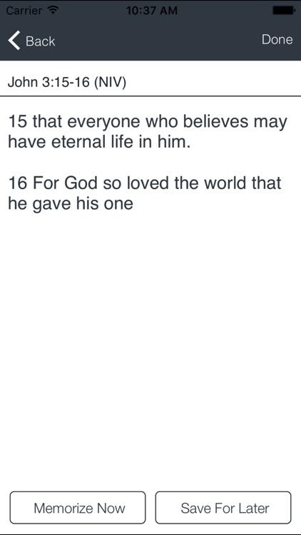 Bible Verse Memorization screenshot-4