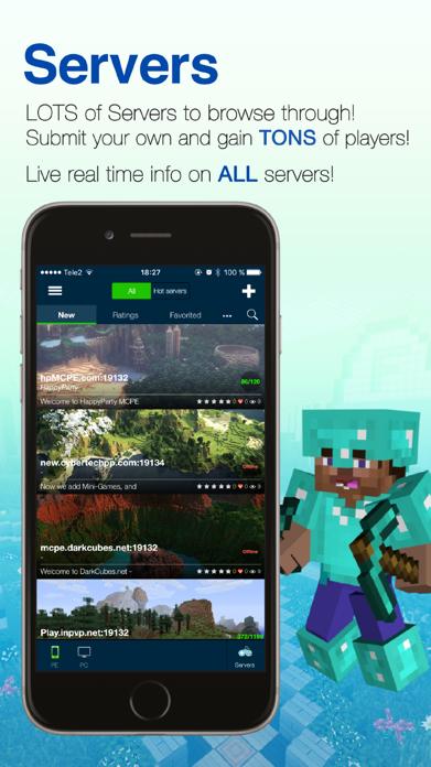 Seeds Lite For Minecraft - Server, Skin, Community Screenshot