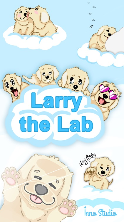 Larry the Lab - Animated Stickers