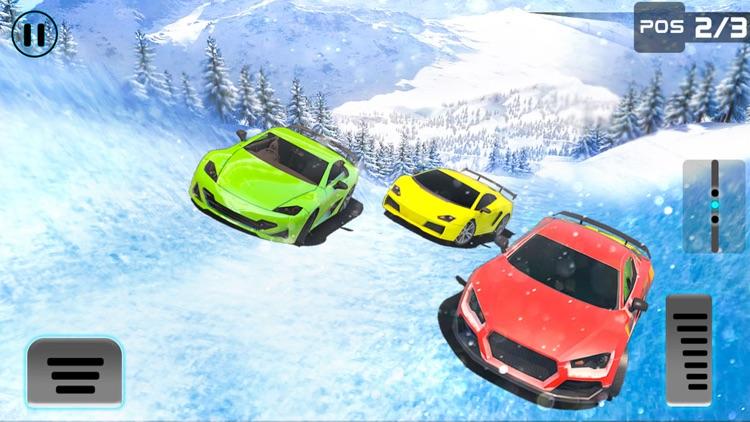 Frozen Water Slide Car driving simulator pro screenshot-3