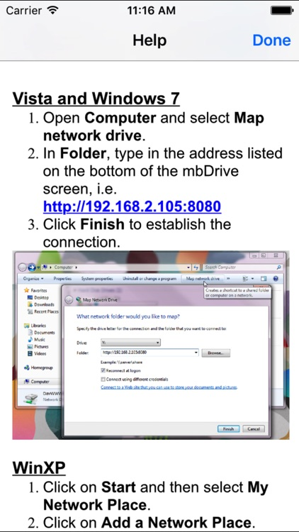 mbDrive Lite - WiFi flash disk screenshot-3