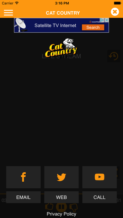 Cat Country 95.1 (WLST) screenshot three