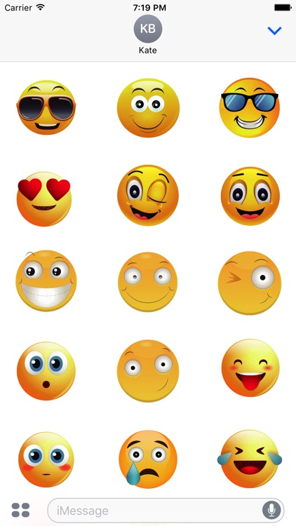 Animated Smiley Stickers