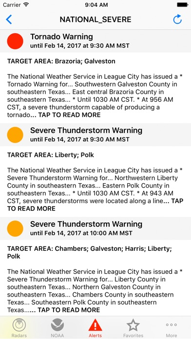 Noaa Weather Radar review screenshots