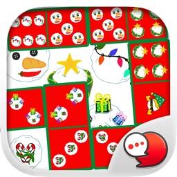 X'mas Domino Countdown Stickers for iMessage