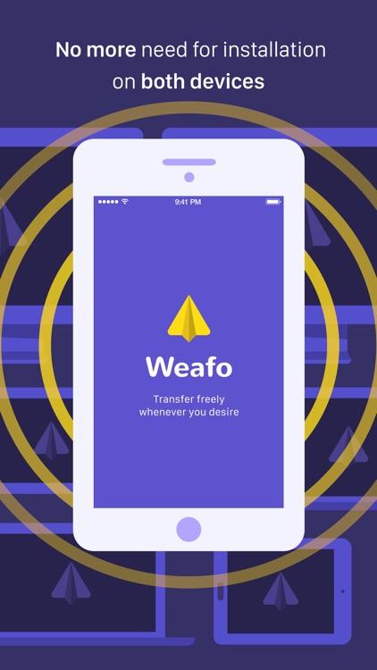 Weafo File Transfer - Share Photo & Video via WiFi