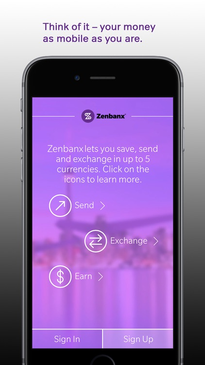 Zenbanx Multi-Currency Account screenshot-0
