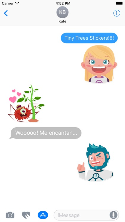 Tiny Trees Basic Stickers for iMessage