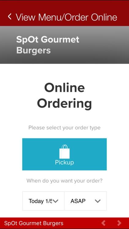 SpOt Gourmet Burgers screenshot-4