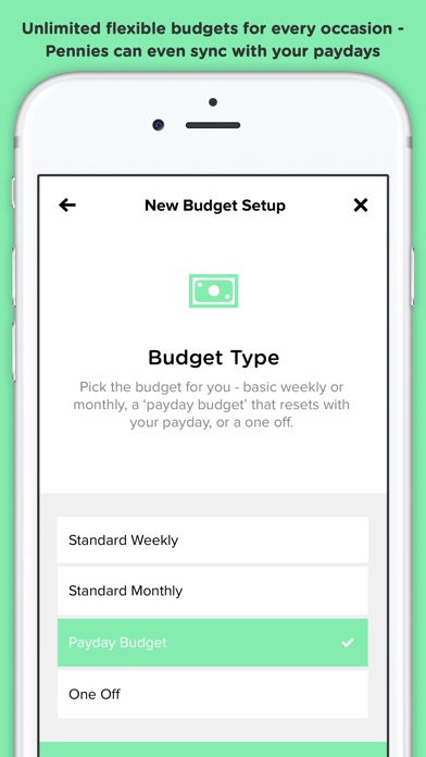 Pennies – Budget and Expenses app image