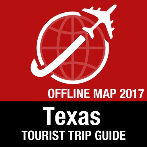 Texas Tourist Guide + Offline Map