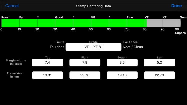Stamp Analyser screenshot-4