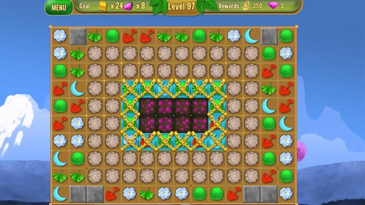 Queen's Garden 2 - A Gardening Match 3 Game screenshot-4
