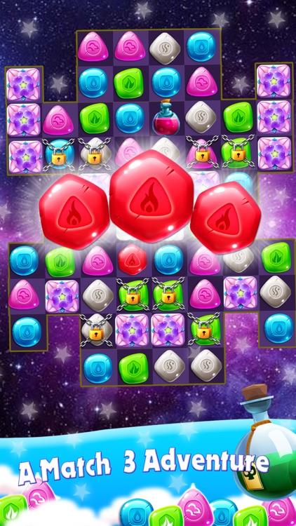 Diamond Blast Match 3 Game screenshot-3