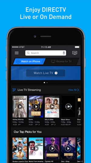 Directv On The App Store