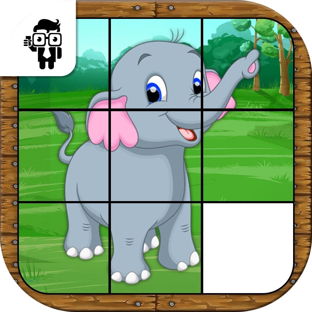 Animal Slide Puzzle Kids Game hack