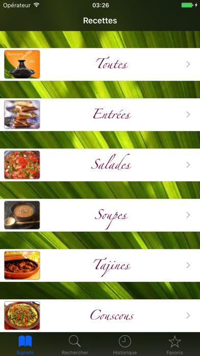 Saveurs du Maroc screenshot one