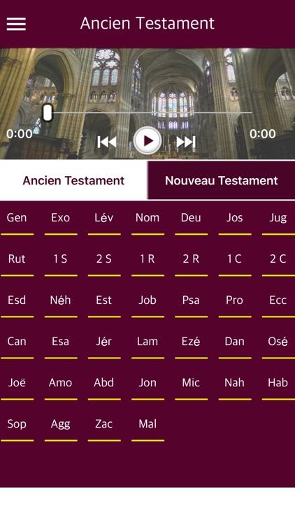 French Bible with Audio - La Sainte Bible audio screenshot-3