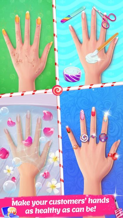 Candy Nail Art - Sweet Spa Fashion Game screenshot-3