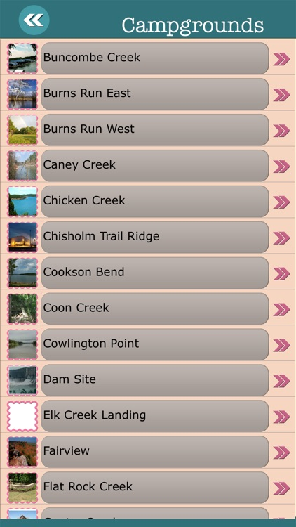 Oklahoma State Campgrounds & Hiking Trails