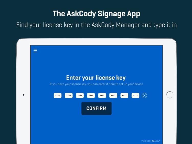 AskCody Signage