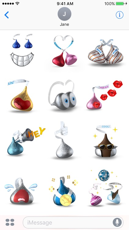 KISSES Emojis screenshot-4