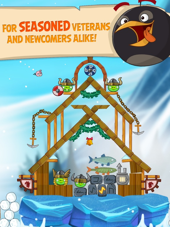 Angry Birds Seasons HD Screenshots