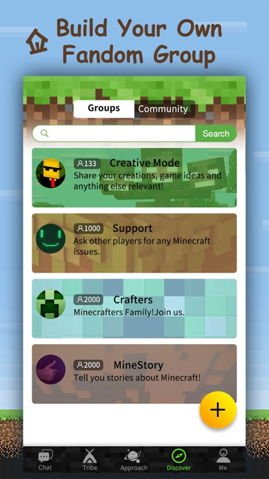 Block Tribie for Minecraft - Fan Chatroom & Group screenshot four